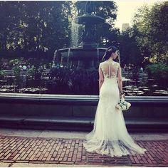 Phase Eight Bridal - Josefina Wedding Dress. Central Park wedding New York