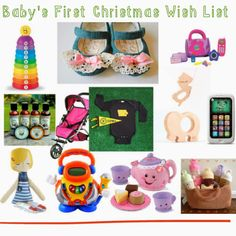 Baby's First Christmas Gift Guide : The Chirping Moms