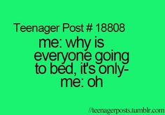 Trendy ideas funny teenager posts so true sleep Funny Relatable Memes, Funny Quotes, Relatable Posts, 9gag Funny, Qoutes, Phineas Y Ferb, Funny Teen Posts, Teen Life, Les Sentiments