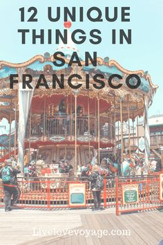 These 12 Unique Things to do in San Francisco are not often talked about, but they are still a must do! Check them out! #sanfrancisco #california #uniquethings