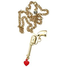 Love Gun Necklace now featured on Fab.