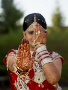 New Jersey Indian bride photo by PhotosMadeEZ - Top 5 Real Weddings » KnotsVilla