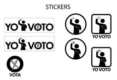 Vota - stickers descargables - BIG Ideas