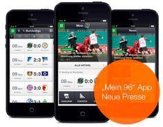 Die Mein 96 App der Neuen Presse Hannover für die Fans von Hannover 96.