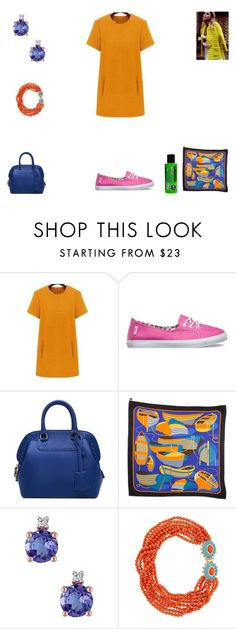 """""""Victoria's"""" by leannsaxon123 on Polyvore featuring Vans, Hermès, Kenneth Jay Lane, Manic Panic, women's clothing, women's fashion, women, female, woman and misses"""