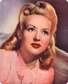 Betty grable 1940s