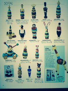 Brio design jaren 50 Brio Toys, Stacking Toys, Wooden Toys, Vintage, Design, Toys, Wood Toys, Vintage Comics