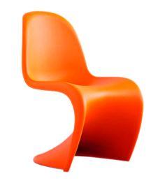 Verner Panton-Panton Chair in Tangerine