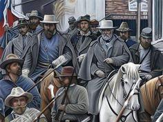 American Civil War Prints by a great artist...my sister:)