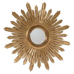 Large Convex Sunburst Mirror 101cm [EE116] - £179.10 - Mirrors for Every Interior from Exclusive Mirrors