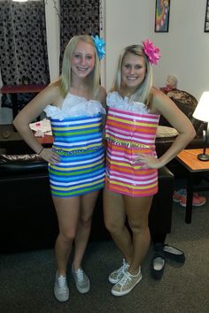 17 Best images about Parties: Anything But Clothes (ABC) on Anything But Clothes Party, Abc Party Costumes, Costume Bags, Costume Ideas, Halloween Party, Halloween Costumes, Best Party Dresses, Fall College Outfits, Creative Costumes