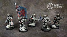 CoolMiniOrNot - Imperial Guard Astra Militarium Traitor Tempestus Scions by Awaken Realms