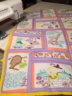 Hey, I found this really awesome Etsy listing at https://www.etsy.com/listing/216372965/nursery-rhyme-quilt