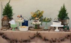 Camping Baby Shower