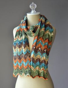 Ravelry: Happy Magic Scarf pattern by Heather Hill