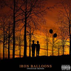 """Jamaican Hip Hop duo Twisted Minds, meaning Dash D & KinDah, introduces its second project titled """"Iron Balloons"""". Albums, Hip Hop, Balloons, Mindfulness, Iron, Movie Posters, Globes, Film Poster, Hiphop"""