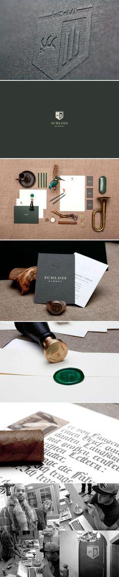 identity / schloss albgut / design firm