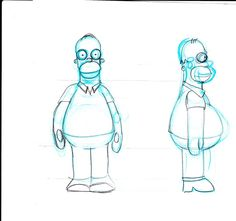homer simpson side - Google Search
