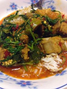 Scrumptious Easy Recipes: Cambodian Authentic Hot & Sour Stew (Somlor Maju Krueng)