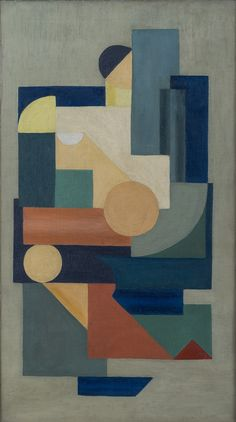 Charlotte Wankel (Norvège, 1988-1969) – Maleri (1925) Charlotte, Textiles, Kids Rugs, Contemporary, Abstract, Artwork, Home Decor, Summary, Work Of Art