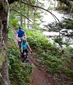 10 Ways to Cycle in New Brunswick Atlantic Canada, Prince Edward Island, New Brunswick, Newfoundland, Nova Scotia, Seaside, Stuff To Do, Coast, City
