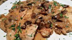 Turkey Breasts w/Mushroom Sauce