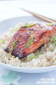 Miso Salmon #recipe