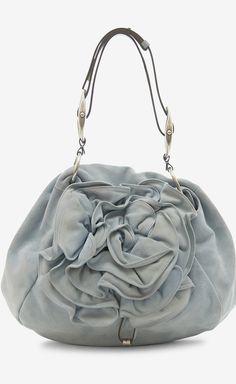 Yves Saint Laurent Robins Egg Blue Handbag.. so cute!!