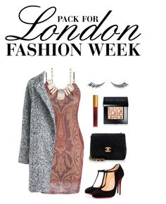 """london fashion week"" by risshern ❤ liked on Polyvore featuring Christian Louboutin, Chanel, Urban Decay, Lipstick Queen, Bobbi Brown Cosmetics, Lonna & Lilly, women's clothing, women, female and woman"