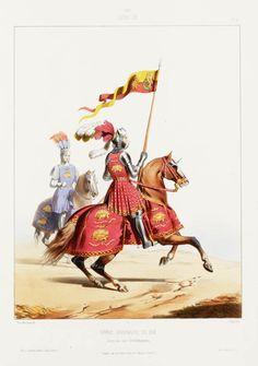 1507. Louis XII. Garde Ordinaire du Roi: Corps des 200 Gentilshommes
