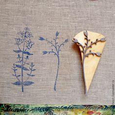 Печатаем штампами и акриловыми красками по ткани - Ярмарка Мастеров - ручная работа, handmade