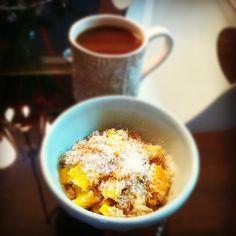 Coconut Mango #Quinoa Porridge