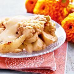 Omena-kaurapaistos on helppo valmistaa ja maistuu niin lasten kuin aikuisten suissa. Valmista paistoksen seuraksi vielä kotitekoinen vaniljakastike.
