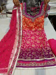 Colors! beautifull punjabi salwar suit get it made at @nivetas for purchase…