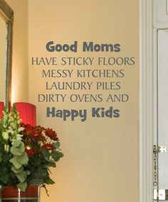 Take a look at this Slate 'Good Moms' Wall Quote by Wallquotes.com by Belvedere Designs on #zulily today!