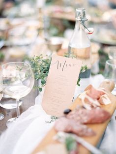 A Beautiful and Relaxed Rehearsal Dinner by Elizabeth LaDuca Photography | Wedding Sparrow