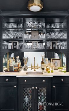 Home Kitchen Bar Design This design features open shelving to expose the craftsmanship of the pantry interior. Kitchen small kitchen with bar design ideas. Stunning Home Bar . Küchen Design, Home Design, Design Ideas, Modern Design, Bar Designs For Home, Interior Design, Wet Bar Designs, Modern Interior, Home Bar Decor
