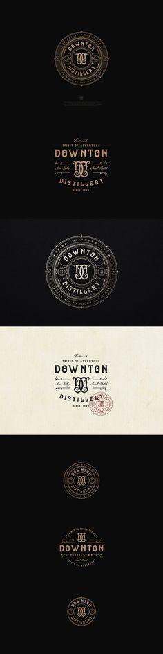 Downton Distillery | 99designs