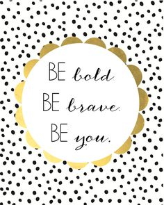 be bold printable