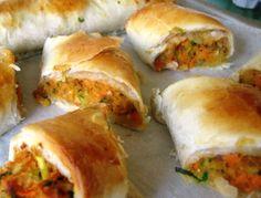 Vegetarian Sausage Roll Recipe -Green Gourmet Giraffe: It's a long way to the shop if you want a sausage roll