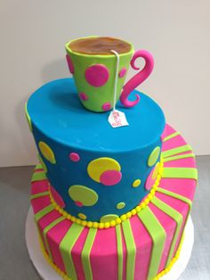Tea party cake By Marian Rescigno