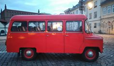 Nysa, a Polish mini van in Kazimierz, Plac Nowy, Krakow