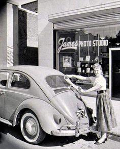 Volkswagen – One Stop Classic Car News & Tips Bus Girl, Car Guide, Import Cars, Vw Cars, Vw Beetles, Vintage Cars, Vintage Images, Porsche, Cars