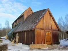 The Great Hall at Midgard, Borre, Vestfold, Norway-actual town of ancestors