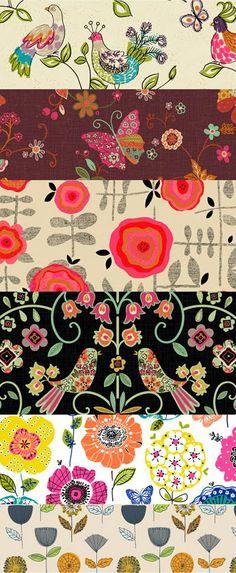 print & pattern: SURTEX NYC 2011 - jane mosse