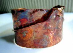 Form Fold Copper Cuff Bracelet
