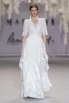 Boho Chic, Rembo Styling, Bridal, Catwalk, Marie, Wedding Gowns, White Dress, Inspiration, Collection