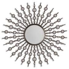 Round Mirror For Your Modern Living Room | www.bocadolobo.com #bocadolobo #luxuryfurniture #exclusivedesign #interiodesign #designideas #mirrorideas #creativemirrors #originalmirrors #mirrordesigns