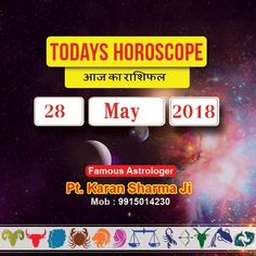 Today's Horoscope Please Visit @ www.a1astrology.com