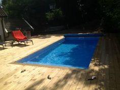 Bygga pool – hur gjuter man en tät pool med betong och cellplastelement «